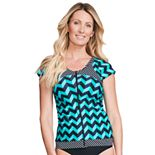 Women's Mazu Swim Rashguard Tankini Top