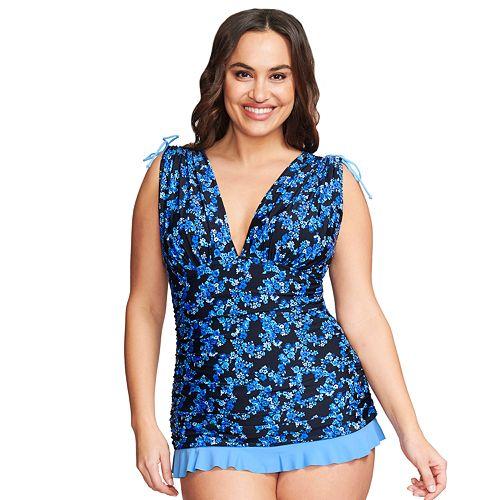 Women\'s Mazu Swim Plus Size Grecian Skater Swim Dress