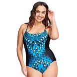 Women's Mazu Swim Plus Size Scoop Neck One Piece Swimsuit