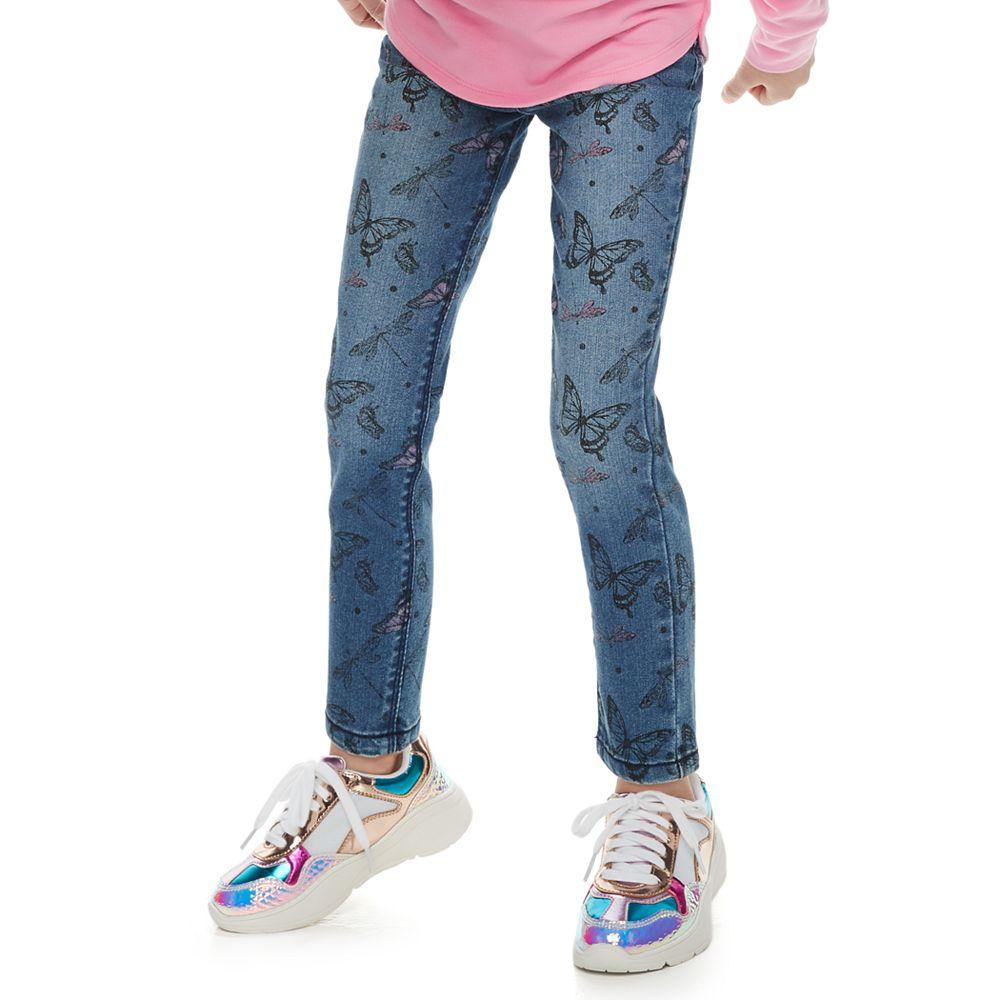 Girls 4-12 SONOMA Goods for Life® Butterfly Skinny Jeans