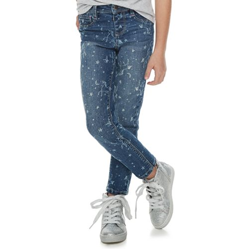 Girls 4-12 SONOMA Goods for Life™ Unicorn Skinny Jeans