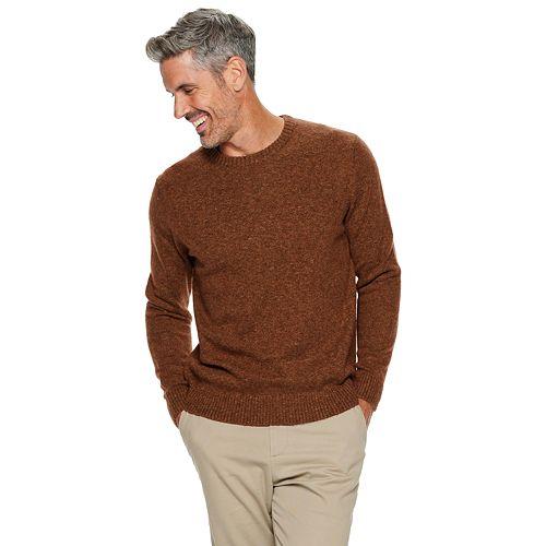 Men's Croft & Barrow® Extra Soft Crewneck Sweater