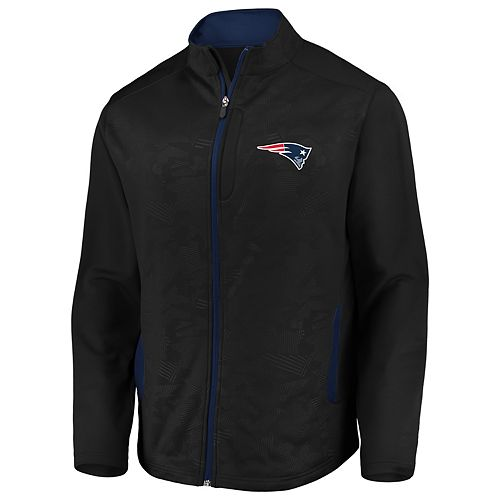 Men's NFL New England Patriots Defender Mission Zip Up