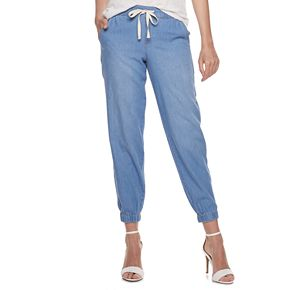 Women's Juicy Couture Chambray Jogger Pants