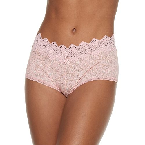 Juniors' SO® Cotton Blend Boybrief Panty