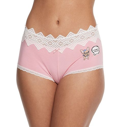 SO® Cotton Boybrief Panty