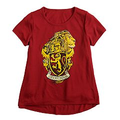 644ad10d1 Girls 7-16 Harry Potter Gryffindor House Graphic Tee