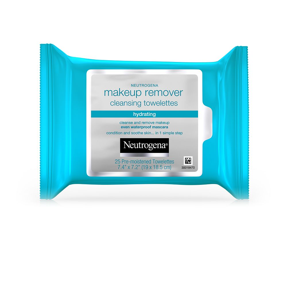 Neutrogena Hydrating Makeup Remover Facial Wipes - 25 ct.