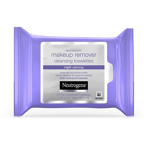Neutrogena Makeup Remover Night Calming Cleansing Towelettes - 25 ct.