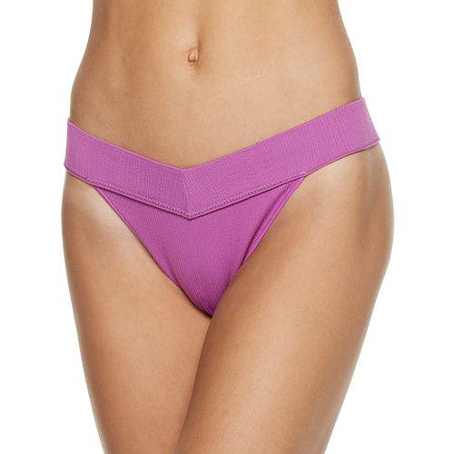 SO® Ribbed Seamless Thong Panty