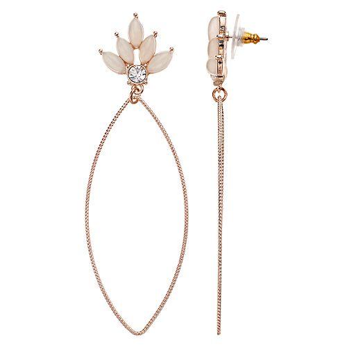 LC Lauren Conrad Marquis Stone Earrings
