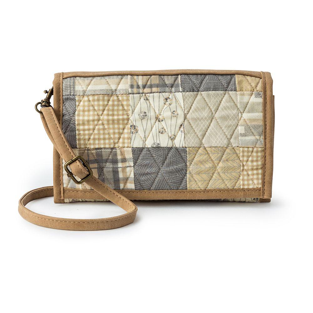 Donna Sharp Sydney Crossbody Tri-Fold Wallet