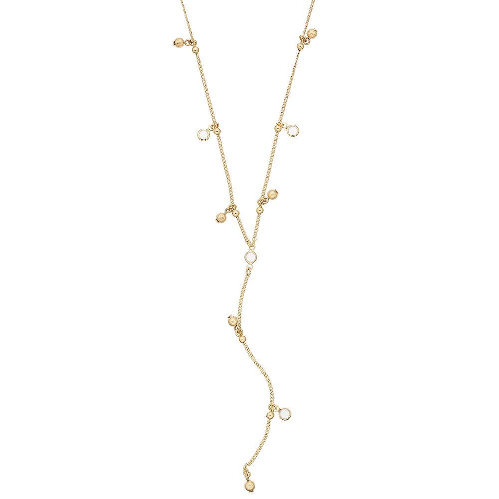 LC Lauren Conrad Long Shaky Y Necklace