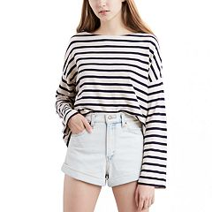 NEW! Women's Levi's® Meghan Striped Sailor Tee