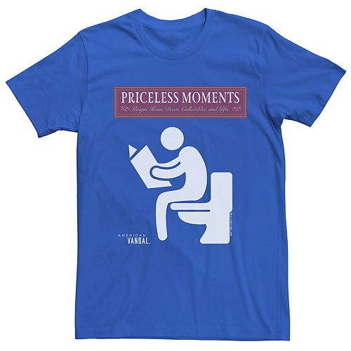 Men's American Vandal Priceless Moments Tee
