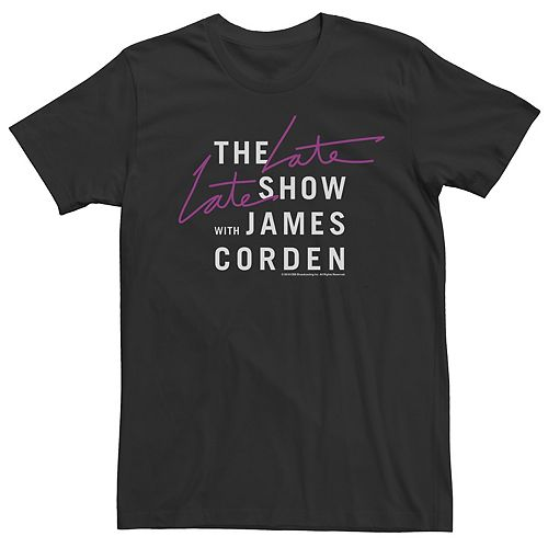 Men's The Late Late Show with James Corden Tee