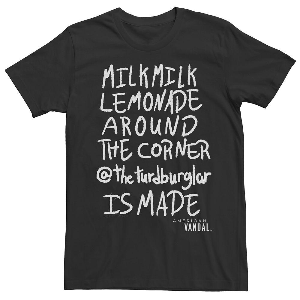 Men's American Vandal Milk Lemonade Tee