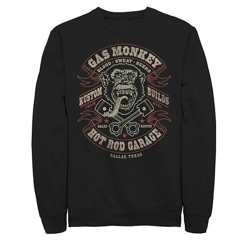 Men's Gas Monkey Blood Sweat Beers Fleece