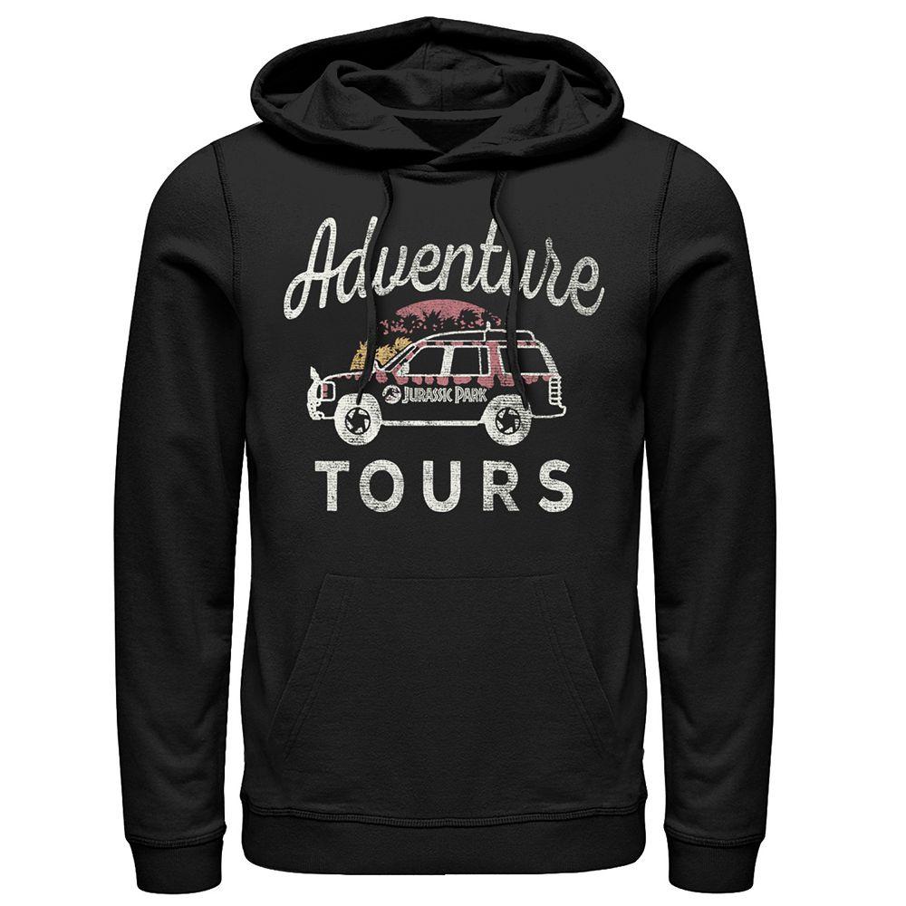 Men's Jurassic Park Adventure Tours Hoodie