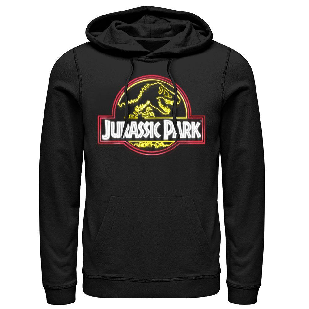 Men's Jurassic Park Neon Park Pullover Hoodie
