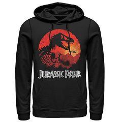 Men's Jurassic Park Jungle Sunset Hoodie