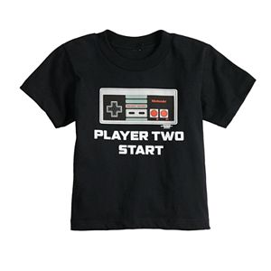 """Toddler Boy Family Fun? Daddy & Me """"Player Two Start"""" Graphic Tee"""