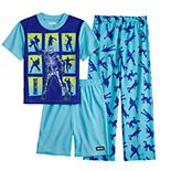 Boys 8-16 Fortnite Boogie Time 3-Piece Pajama Set
