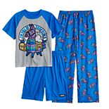 Boys 8-16 Fortnite Surprise 3-Piece Pajama Set