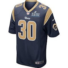 Men's Nike Los Angeles Rams Todd Gurley II Super Bowl LIII Game Replica Jersey