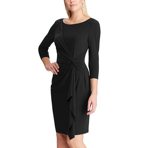 Women's Chaps Side Draped Dress