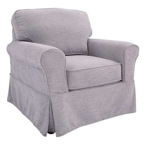 OSP Home Furnishings Ashton Slipcover Arm Chair