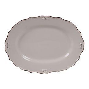 Certified International Vintage Cream Oval Platter