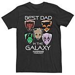 Men's Guardians of the Galaxy Best Dad Tee