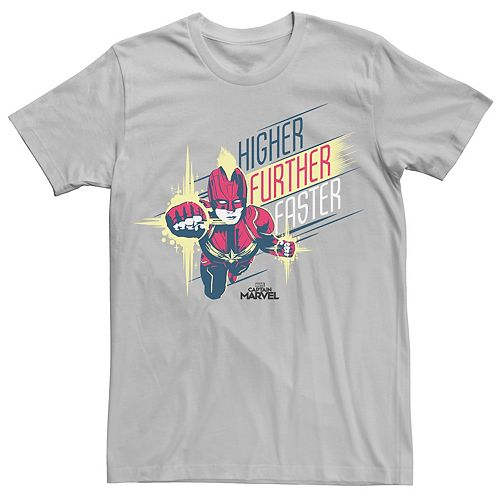 Men's Captain Marvel Tee