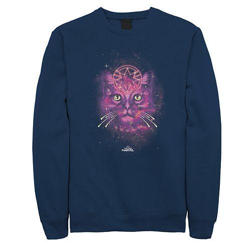 Men's Captain Marvel Pink Goose Sweatshirt