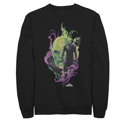 Men's Captain Marvel In Smoke Sweatshirt