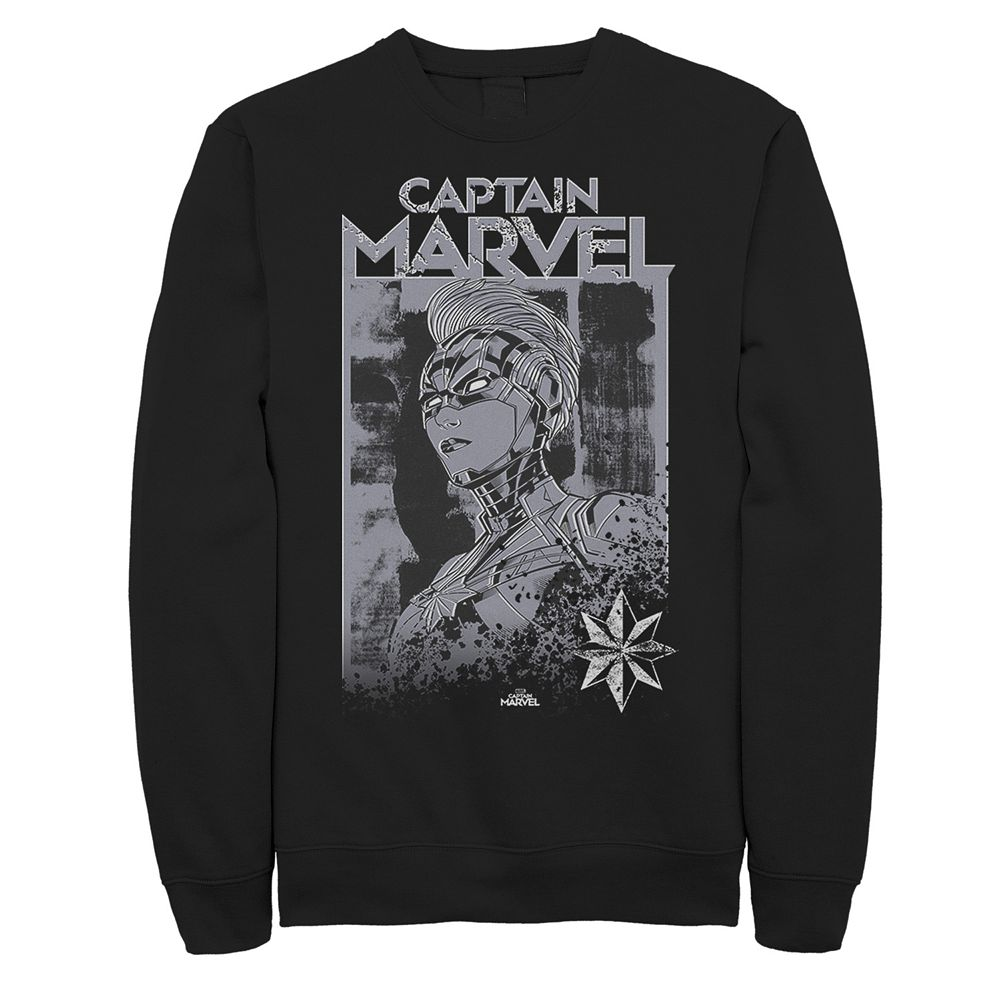 Men's Captain Marvel Stamp Sweatshirt