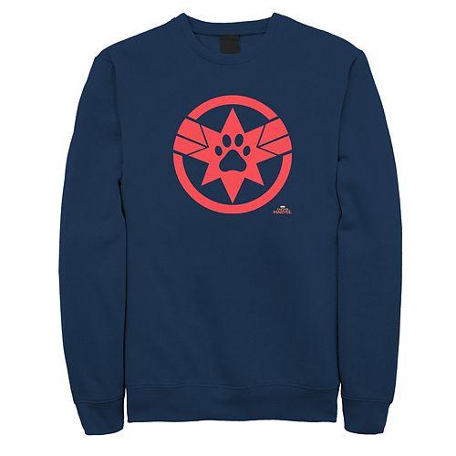 Men's Captain Marvel Paw Sweatshirt