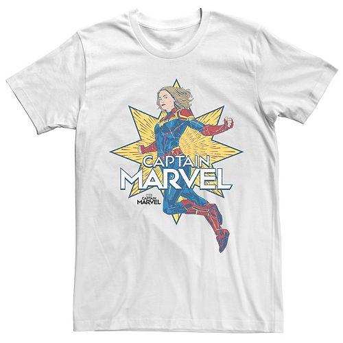 Men's Captain Marvel Star Tee