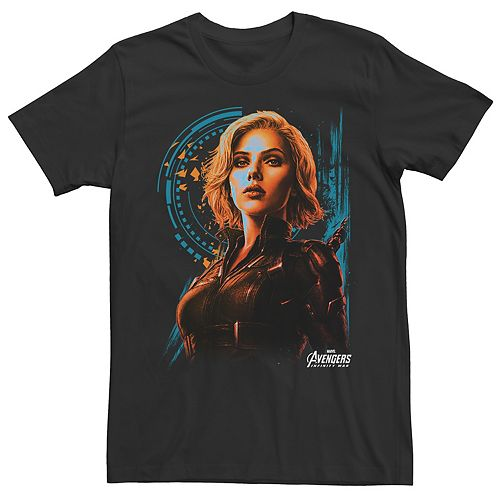 Men's Avengers: Infinity War Agent Widow Tee