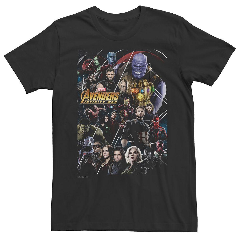 Men's Avengers: Infinity War Poster Tee