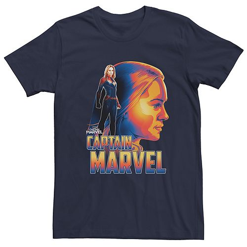 Men's Captain Marvel Profile Tee