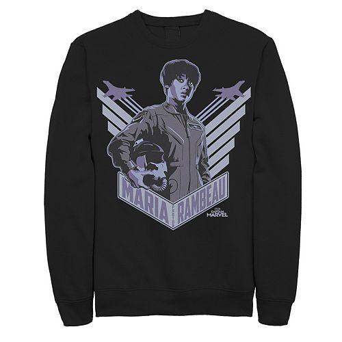 Men's Captain Marvel Wings Sweatshirt