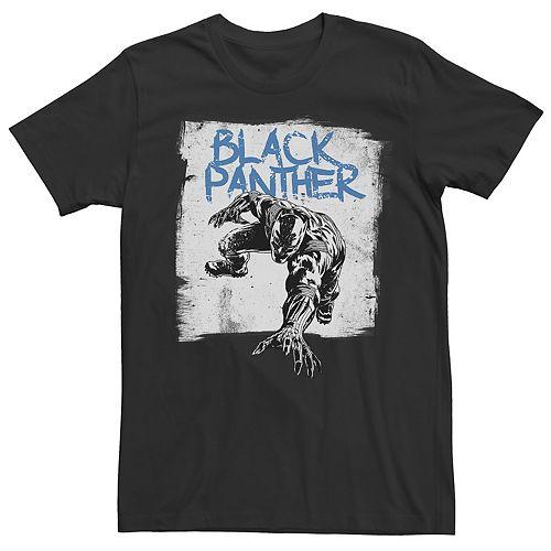 Men's Black Panther Poster Tee