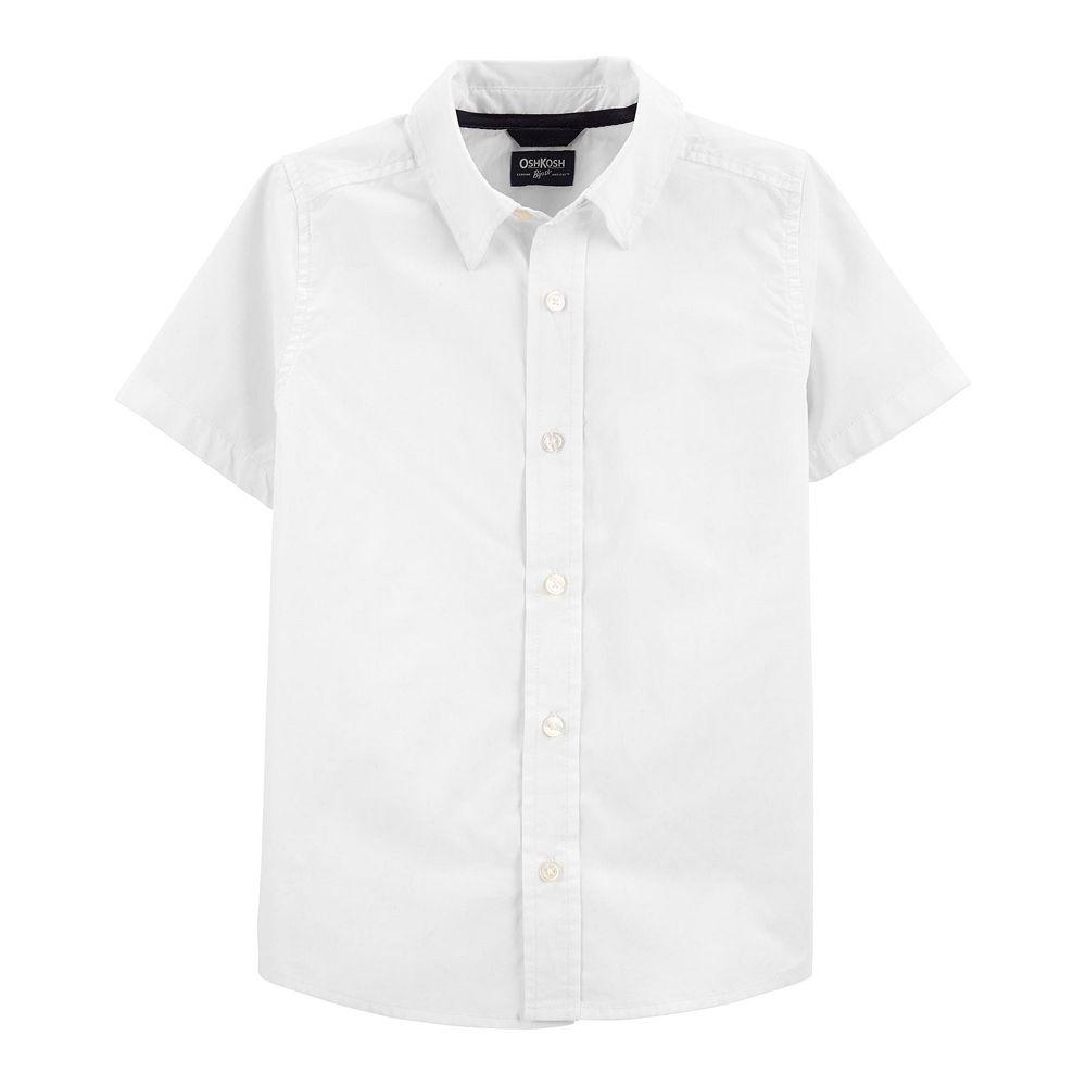 Boys 4-20 OshKosh B'gosh Button-Front Uniform Shirt