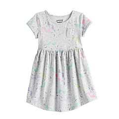 0f440c7c7b3 Toddler Girl Roll Cuff Skater Dress by Jumping Beans®