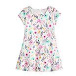 Toddler Girl Keyhole Back Skater Dress by Jumping Beans®