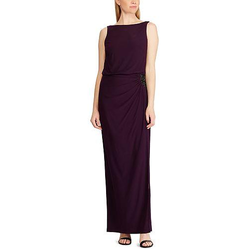 Women's Chaps Sleeveless Evening Gown