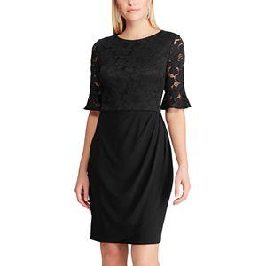Women's Chaps 3/4 Sleeve Dress