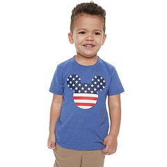 fce250c2 Disney's Mickey Mouse Toddler Boy Americana Graphic Tee by Family Fun